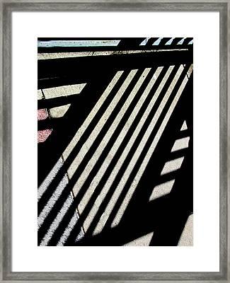 Diangular Framed Print