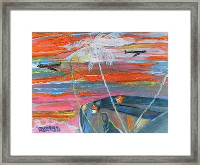 Diaspora  -  Coming Home Framed Print by Mudiama Kammoh
