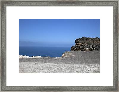 Diatomaceous  Framed Print by Amanda Barcon