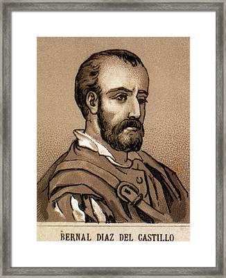 Diaz Del Castillo, Bernal (medina Del Framed Print