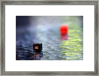 Dice Framed Print by Arie Arik Chen