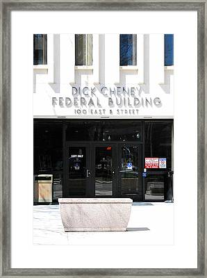 Dick Cheney Federal Bldg. Framed Print