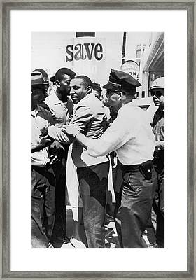 Dick Gregory Civil Rights Framed Print