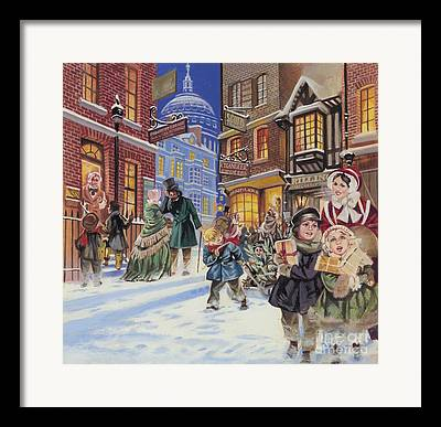 Festivities Paintings Framed Prints