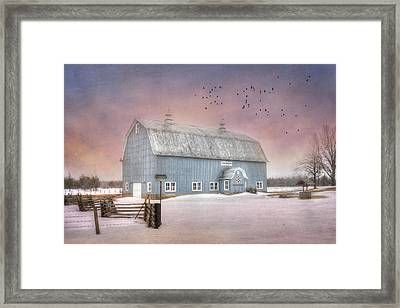 Dickey Hill Farm Framed Print
