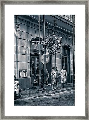Dickie Brennan's Bourbon House Framed Print by Sennie Pierson