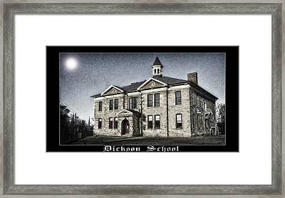 Dickson School Framed Print