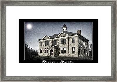 Dickson School Framed Print