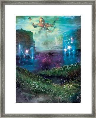 Dictate Of Kruphix Promo Framed Print by Ryan Barger