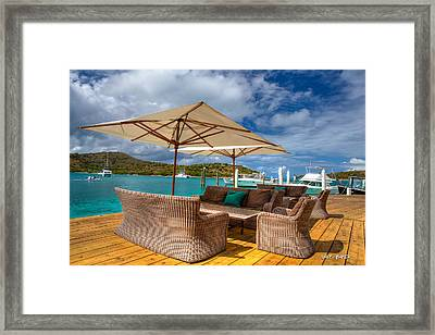 Did You Say Chill Framed Print by Walt  Baker