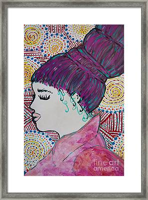 Did You See Her Hair Framed Print by Jacqueline Athmann