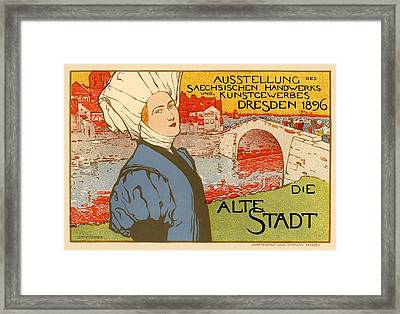 Die Alte Stadt Framed Print by Gianfranco Weiss