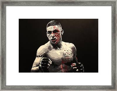 Diego Sanchez - War Framed Print