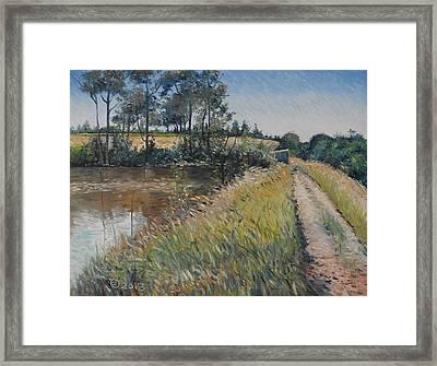 Diemersfontein Dam Western Cape South Africa Framed Print by Enver Larney
