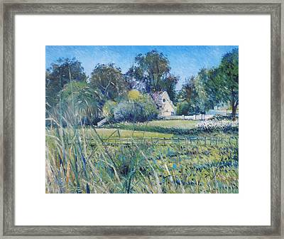 Diemersfontein Western Cape South Africa Framed Print by Enver Larney