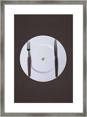 Diet Framed Print