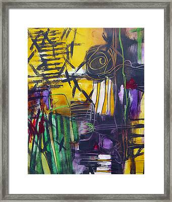 Different Path Framed Print