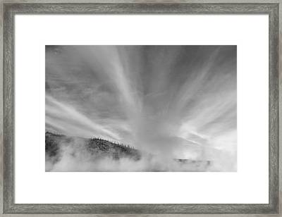 Different Place Framed Print by Jon Glaser