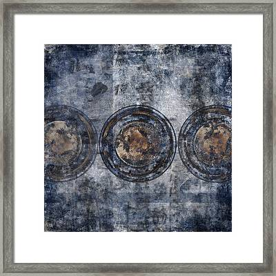 Different Worlds Framed Print