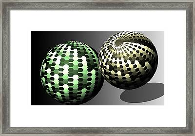 Different Worlds Framed Print by John Hines