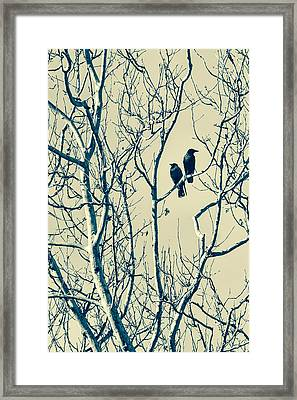 Differing Views Framed Print