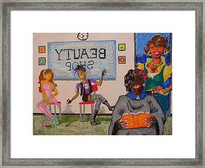 Diffrent Strokes Framed Print by William Bryant