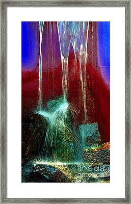 Diffusion Number Five Framed Print by Skip Willits