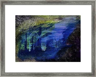 Framed Print featuring the painting Dig by Tracey Myers