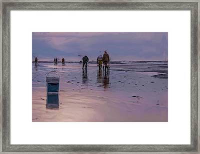 Diggers Framed Print by Nichon Thorstrom