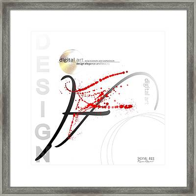 Digital Art 3.0 Framed Print by Franziskus Pfleghart