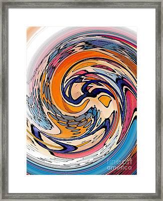 Digital Dunkin Framed Print by Sarah Loft