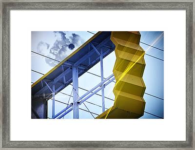 Digital Evolution Framed Print by Lena Wilhite