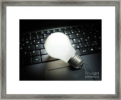 Digital Ideas Framed Print by Sinisa Botas