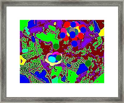 Digital Paint Framed Print by HollyWood Creation By linda zanini