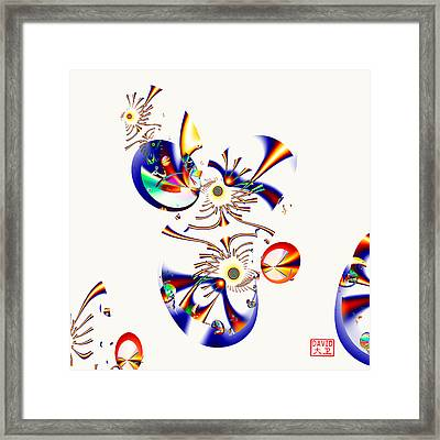Digital Picasso - Tweet Tweet Framed Print
