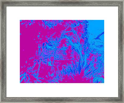Digital Visual Framed Print by HollyWood Creation By linda zanini