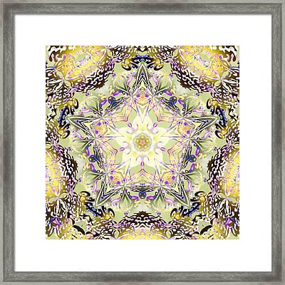 Digmandala Simha Framed Print