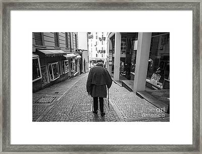 Dignity Framed Print by Ning Mosberger-Tang