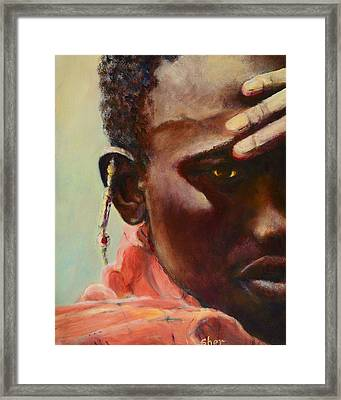 Dignity Framed Print by Sher Nasser