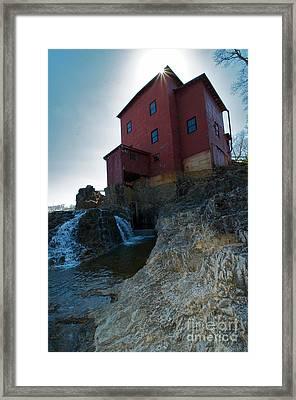 Dillard Mill Framed Print by Chris Brewington Photography LLC