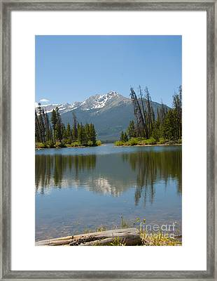 Dillon Lake Framed Print by Juli Scalzi