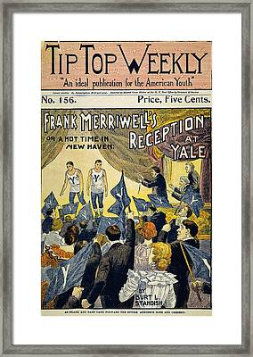 Dime Novel, C1899 Framed Print