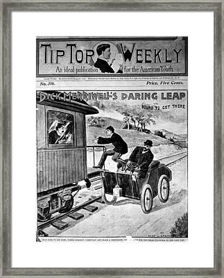 Dime Novel Framed Print by Granger