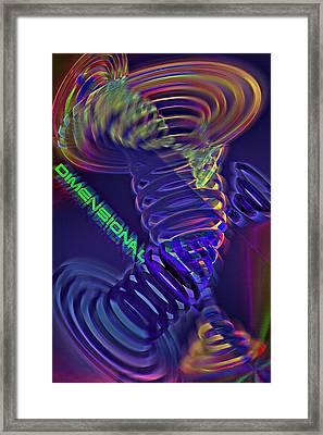 Dimensional 3 Framed Print by Steve Ohlsen