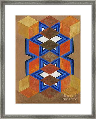 Dimensional Portal Framed Print
