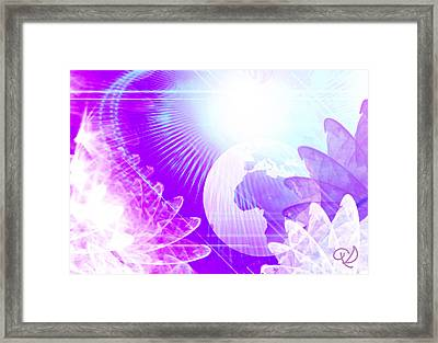 Dimensional Shift Framed Print