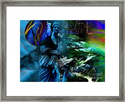 Dimensions Framed Print