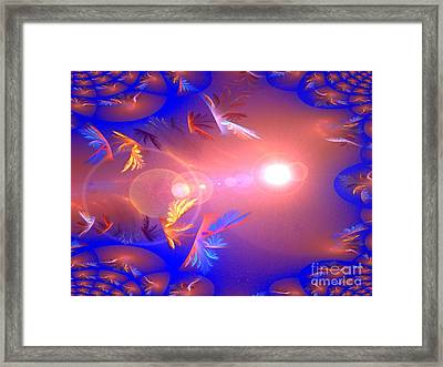Dimensions Framed Print
