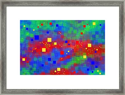 Framed Print featuring the digital art Dimensions by Lena Wilhite