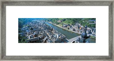 Dinant Ardennes Belgium Framed Print by Panoramic Images